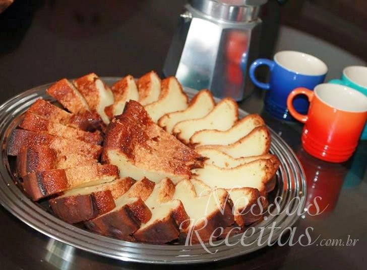 Receita de bolo baeta, tradicional da Paraíba