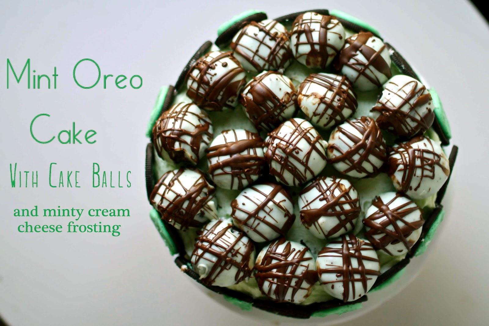 Yammies Noshery Mint Oreo Cake