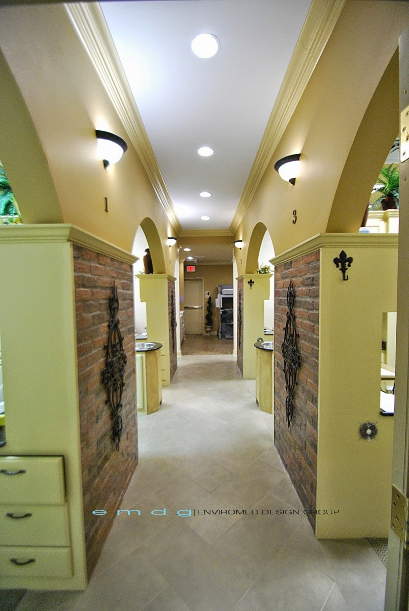 Dental Office Corridor Remodel - After - EnviroMed Design Group