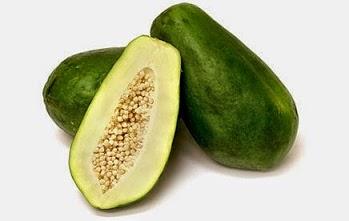 manfaat buah pepaya mentah lancarkan asi dan haid wanita