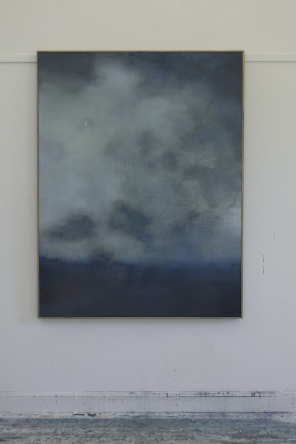 contemporary abstract landscape, large scale, mysterious horizon