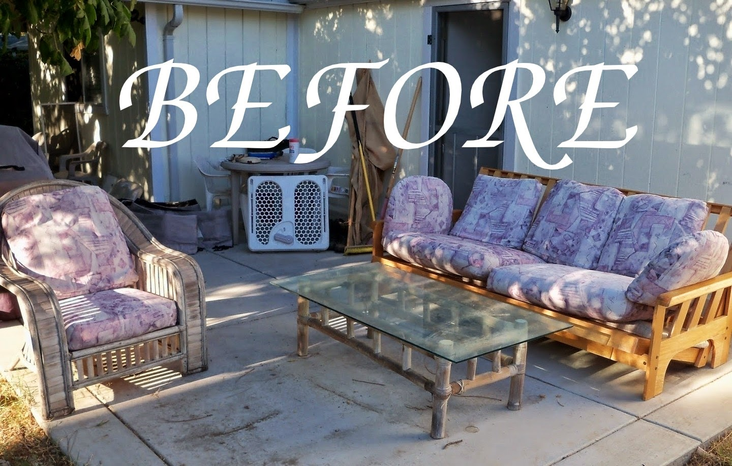 Outdoor Oasis How To Turn A Futon Into Porch Couch