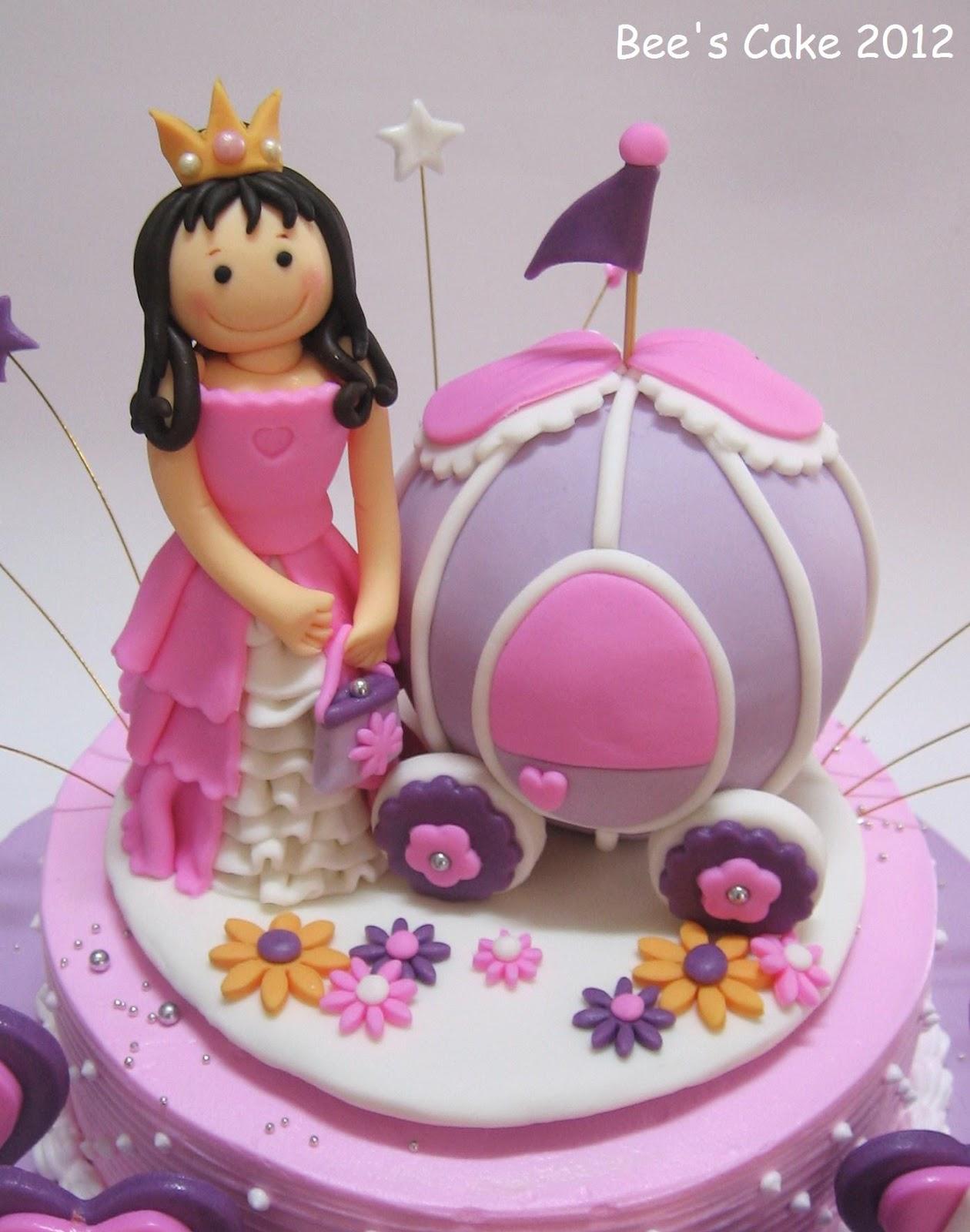 Bee S Cake Princess And Purple Carriage