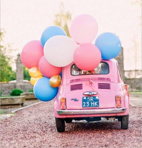 Pink Baloons