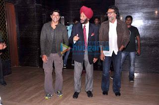 Sonam Kapoor & Farhan Akhtar at 'Bhaag Milkha Bhaag' audio release
