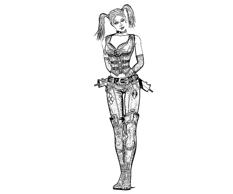 batman-arkham-city-harley-quinn-character-coloring-pages