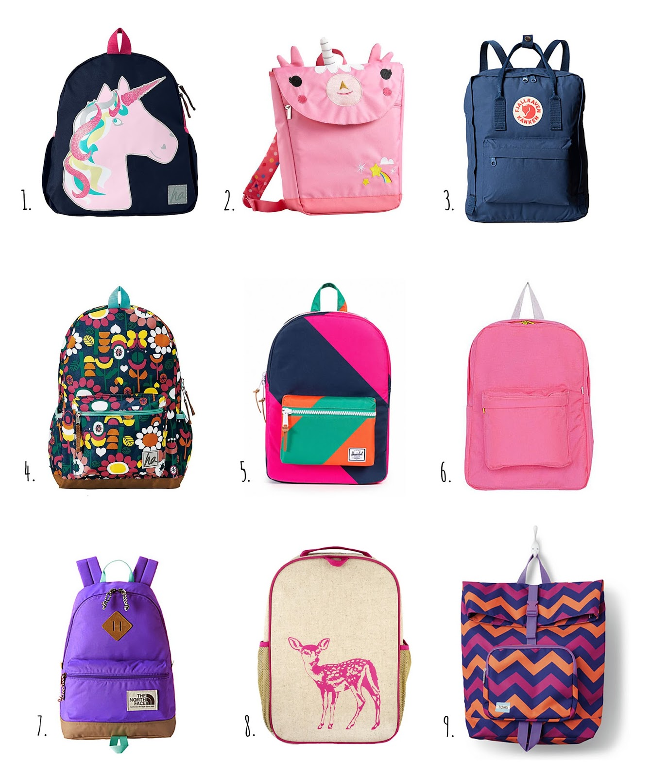 little hiccups back to school backpacks