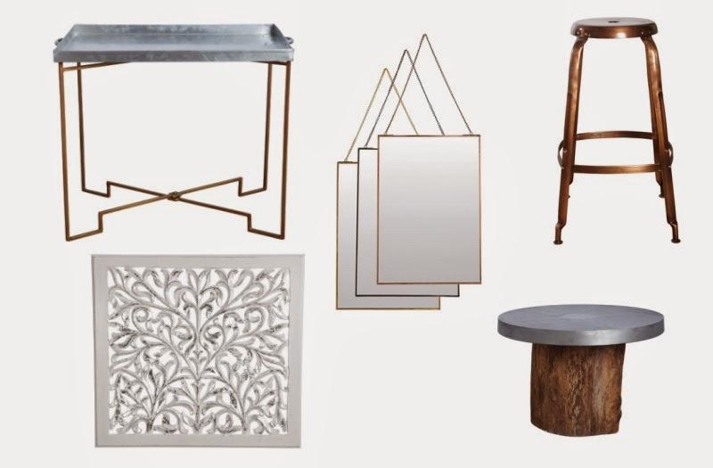 Metallic is het helemaal! : De Interieurcollectie