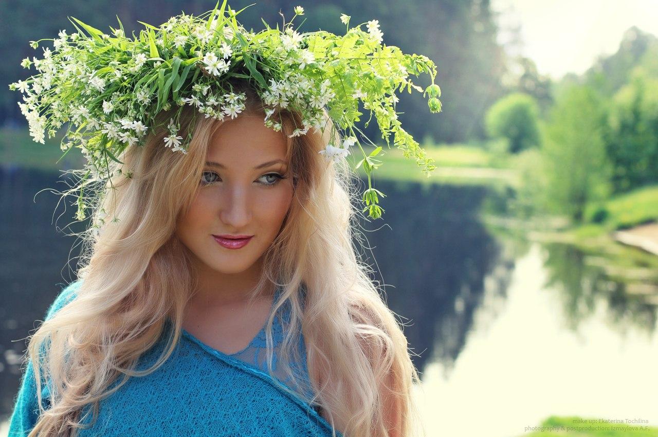 Простая русская девушка 14 фотография