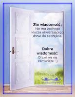 otwarte drzwi do szczęścia wszystko w Twoim Umyśle i Sercu