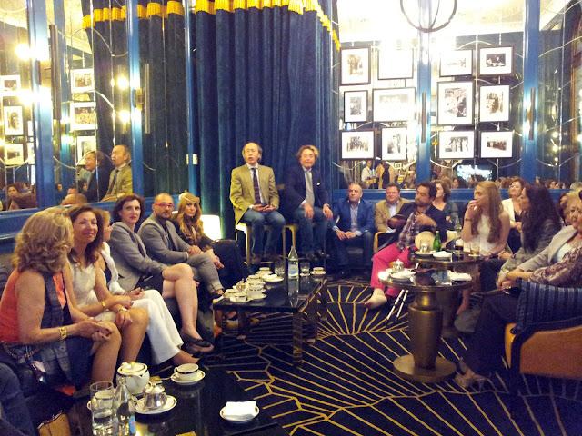 V&L+hablando+de+Moda+en+la+Feria+Hotel+Alfonso+XIII
