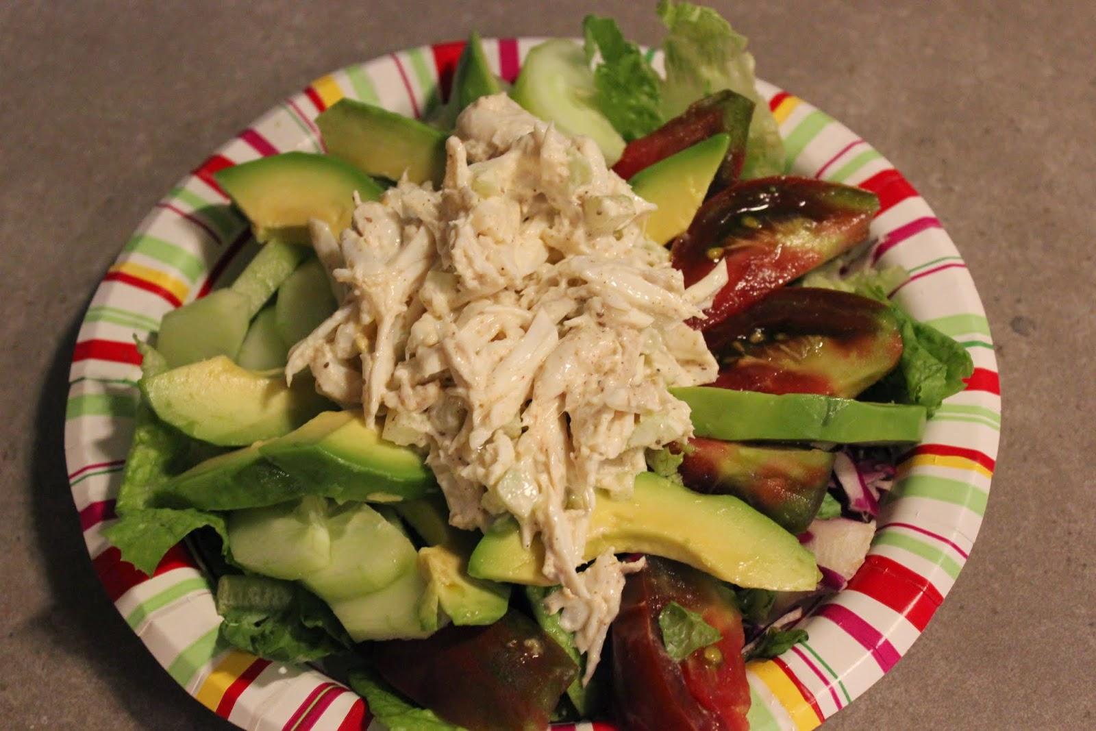 crab meat salad paleo