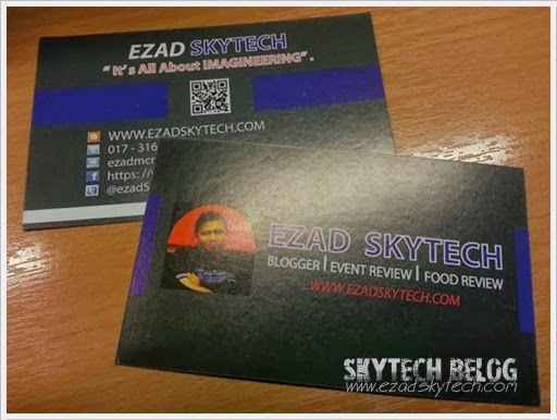 Ezad Skytech Name Card