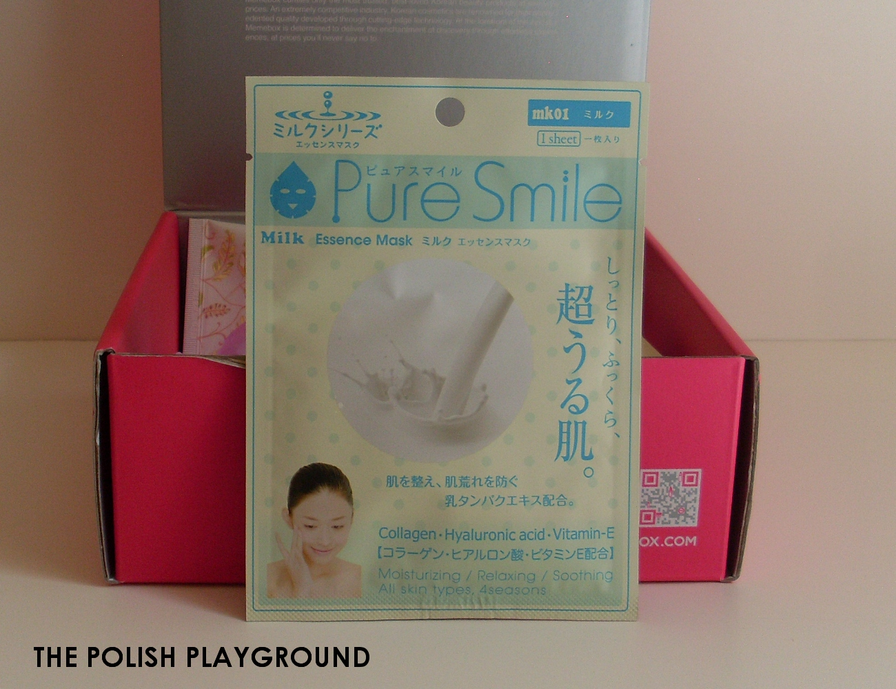 Memebox Special #7 Milk Unboxing - Pure Smile Milk Mask Pack