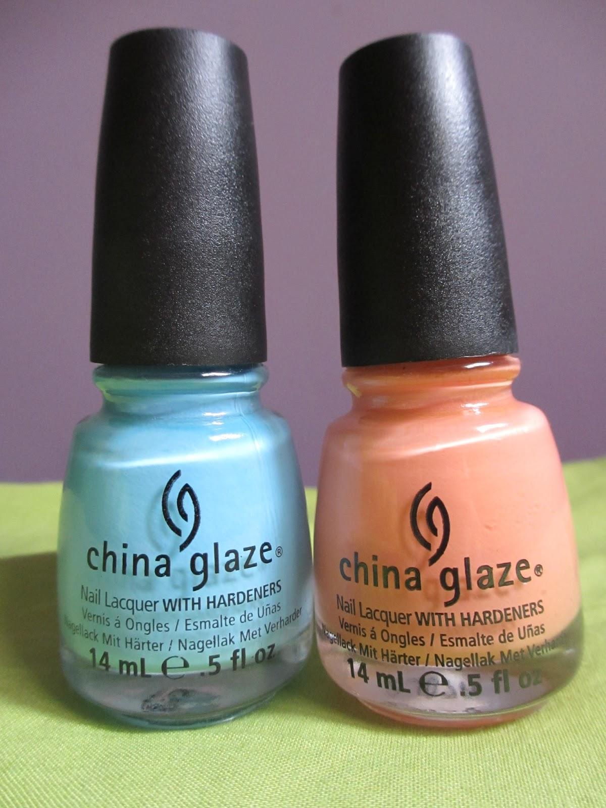 china glaze peachy keen bahamian escape