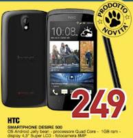 HTC Desire 500, offerta Euronics