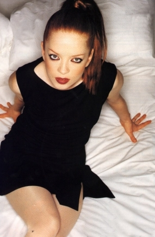 goth girl Shirley Manson