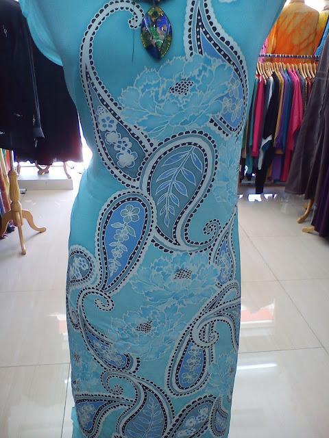 Blue Pesly Sutera Batik