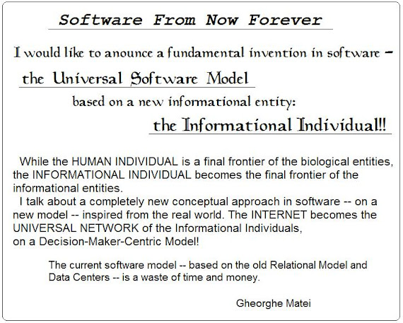 Software From now forever