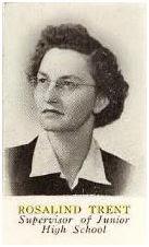 Miss Rosalind Trent 1952