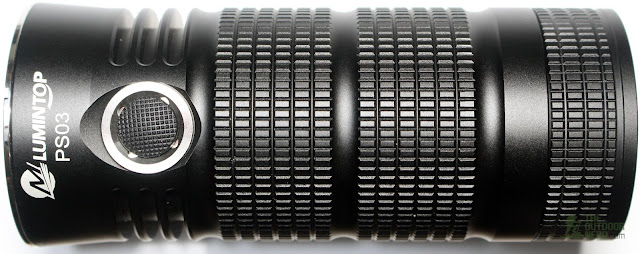 Lumintop PS03 4x18650 Flashlight - Side View 3