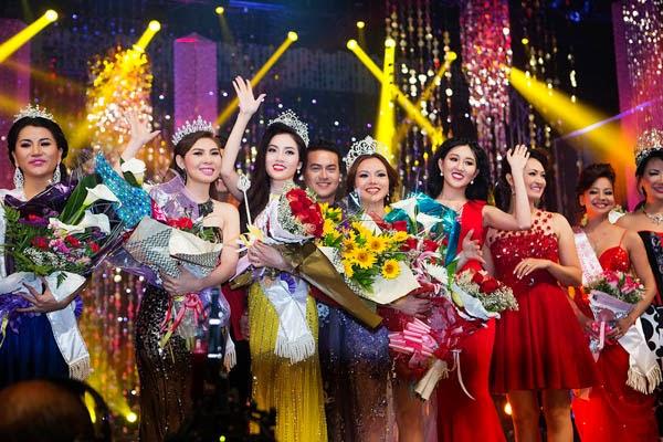 Người đẹp MC Ruby Anh Phạm giành chiến thắng với danh hiệu Á hậu 1