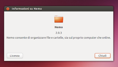 Nemo File Manager - Info