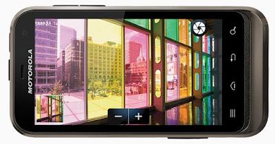 Harga Seluler Motorola Defy XT535 - 1 GB - Hitam