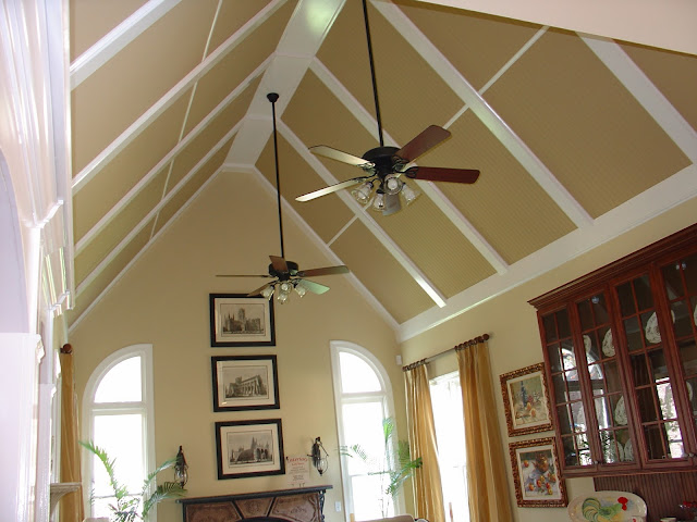 Decorate your ceiling home and lifestyle design for Coffered cathedral ceiling