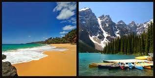 beach vs mountains essay