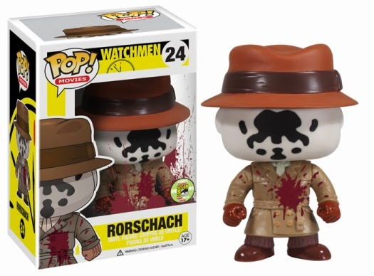 Funko Pop! Rorscharch SDCC 2013