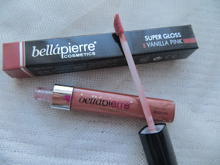 review bellapierre swatch pink vanilla