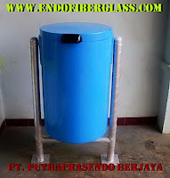 Tempat Sampah Bulat Single