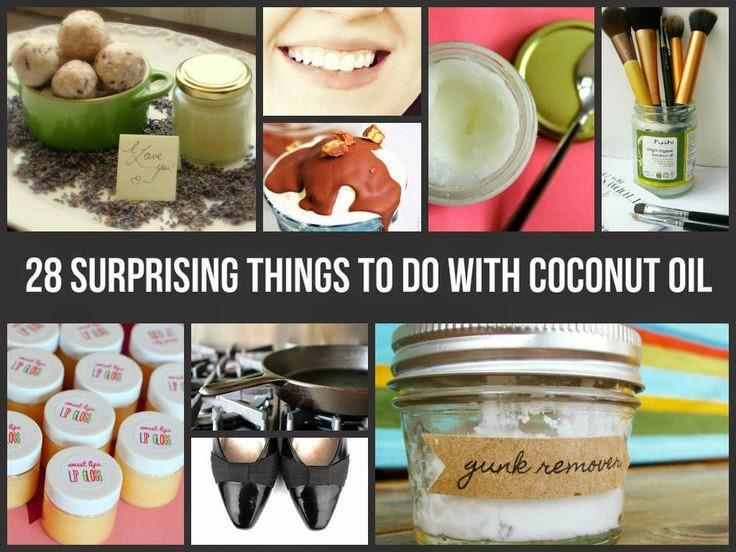 28 Surprising Things To Do With Coconut Oil