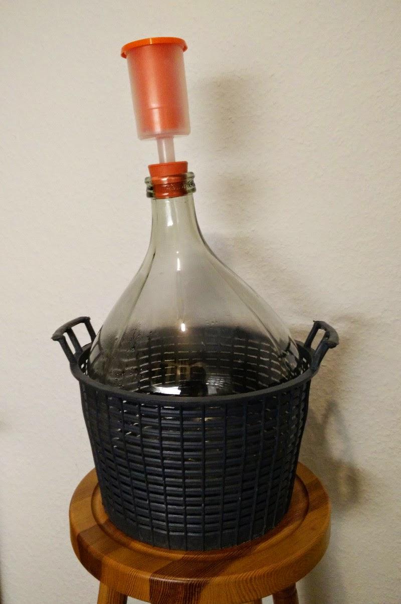 gärballon mit gäraufsatz 10 liter