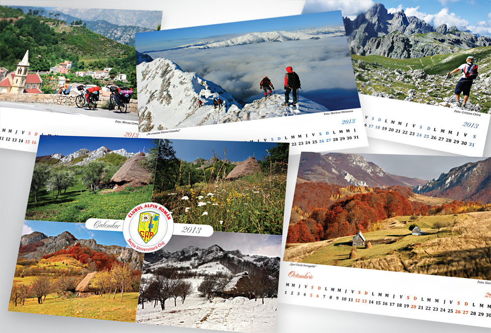 Calendarul de birou CAR 2013
