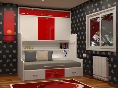 Tienda dormitorios juveniles decoraci n integral para tu for Muebles juveniles baratos