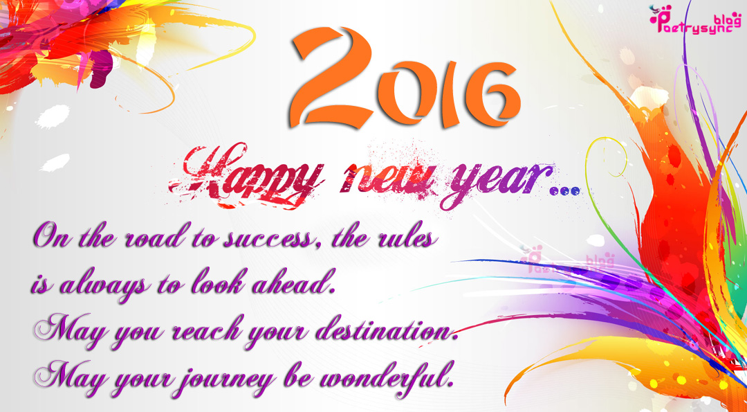 2 Lines Urdu Poetry: Happy New Year Wishes Quotes with New Year ...