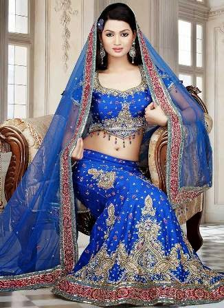 Indian bridal dresses 2013