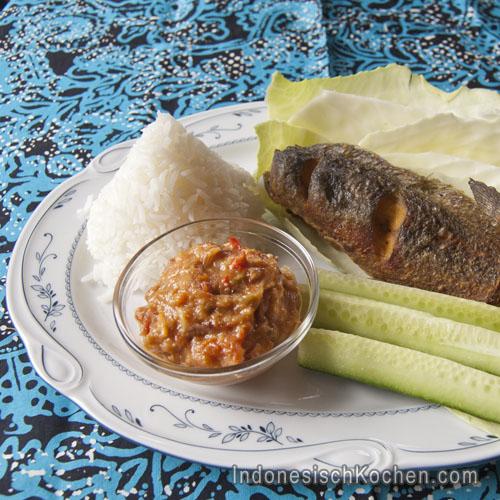 Katzenfisch mit Sambal rezept indonesisch kochen