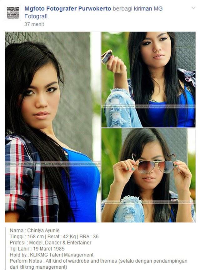 Chintya Ayunie - Model Indonesia & Penari Tradisional Berbakat. Simple Infonya ada dibawah ini