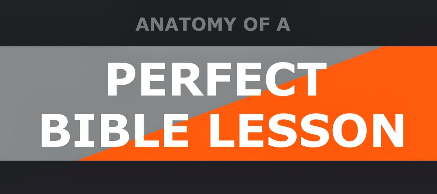 Simple Kidmin Download Anatomy Of A Perfect Bible Lesson For Free