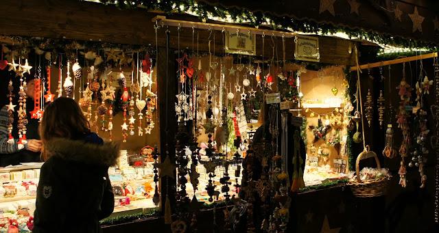 Christmas stall - Ludwigsburg Christmas Market, Germany