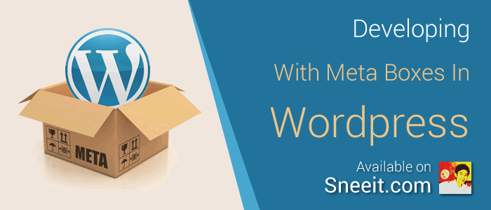 Developing Applications with Meta Boxes in Wordpress