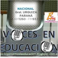 Voces en Educación