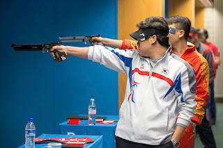 Jin Jongoh - Coréia do Sul - Pistola de Ar 10m - Copa do Mundo de Carabina e Pistola - Tiro Esportivo