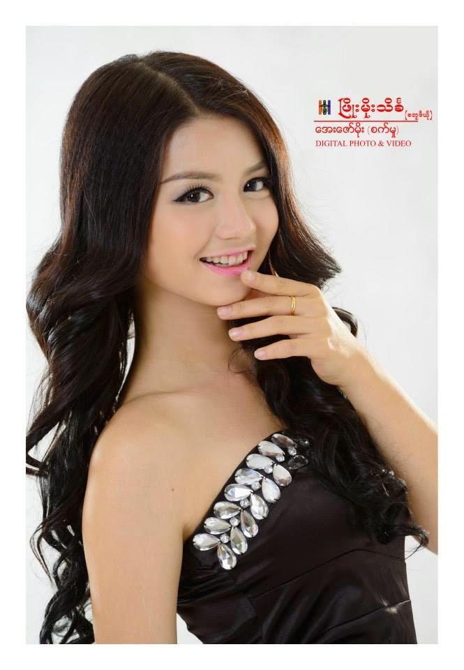 Celebrity Fashion - Khin Wint Wah