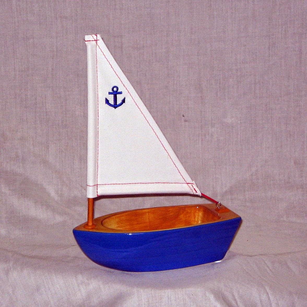 Ceramic Sailboat