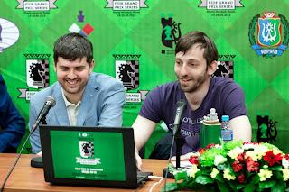Grand Prix Khanty-Mansiysk. Svidler - Grischuk
