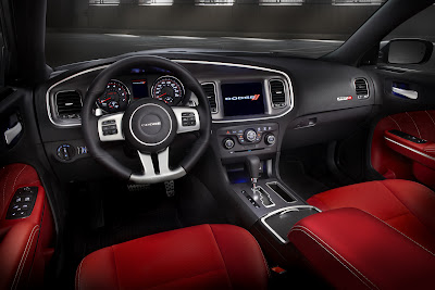 2012 Dodge Charger SRT8 Interior Picture